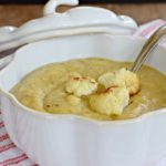 Roasted Cauliflower Soup with Ras El Hanout