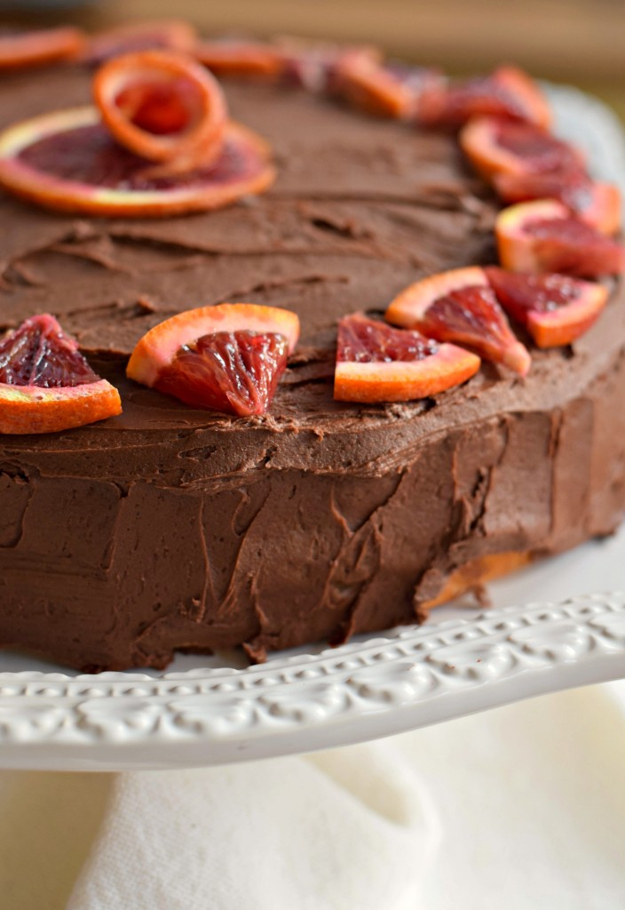 Chocolate Orange Cake for Winter Birthdays - West of the Loop