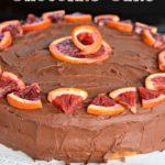Chocolate Orange Cake for Winter Birthdays