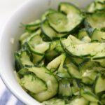 Meme's Pickled Cucumbers