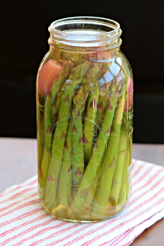 pickled asparagus how to