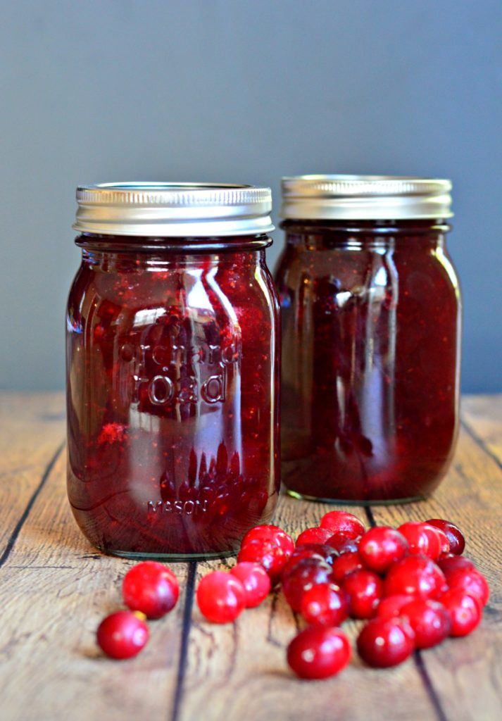homemade cranberry relish thanksgiving