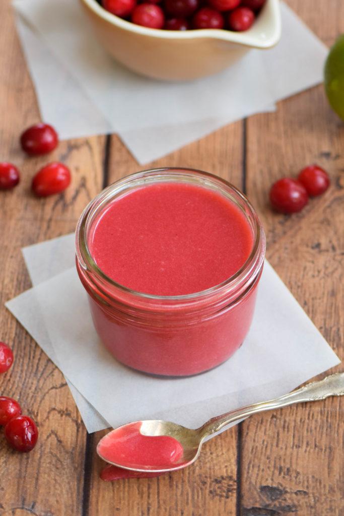 cranberry curd