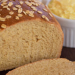 Honey Whole Wheat Bread with Yogurt Butter