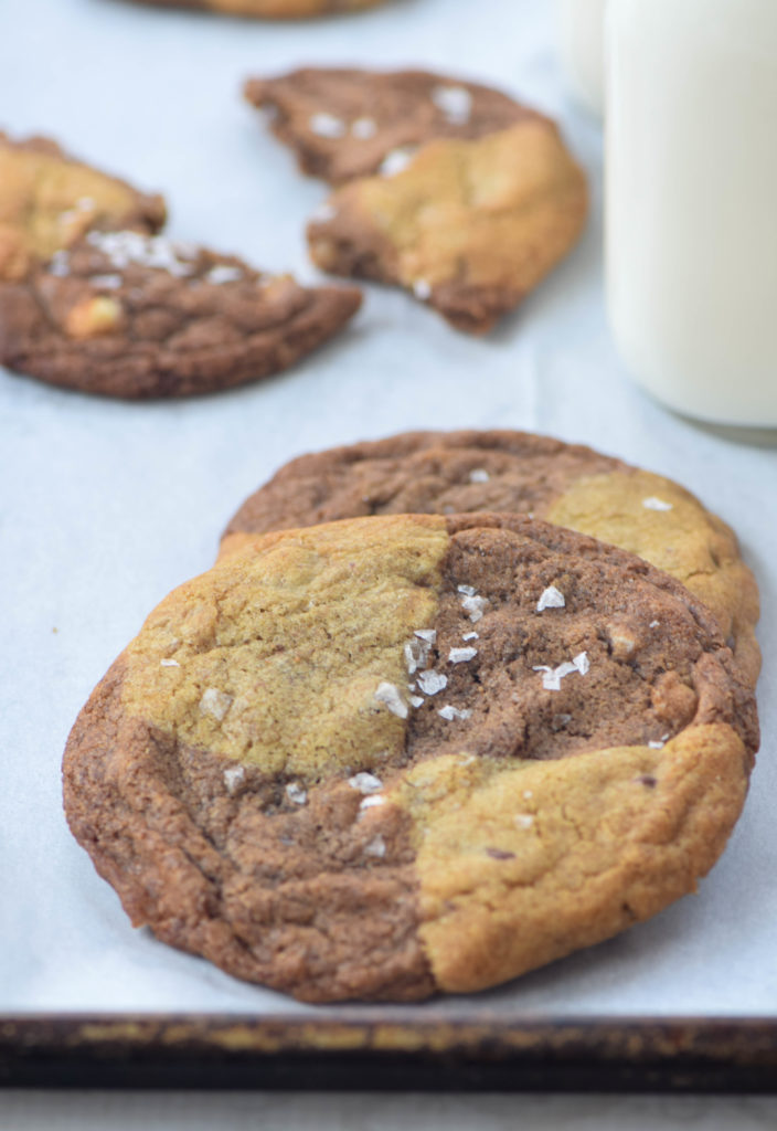 reverse chip cookies