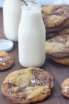 Malted Chocolate Chip and Reverse Chip Cookies from Marbled, Swirled & Layered