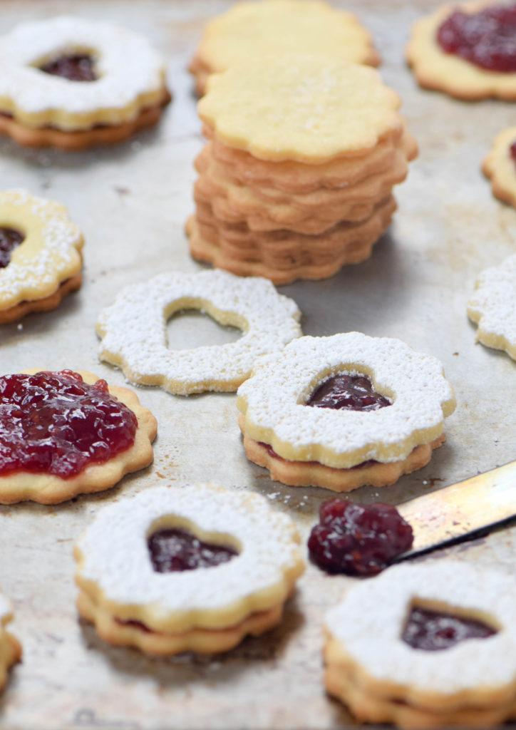 linzer cookie nut-free