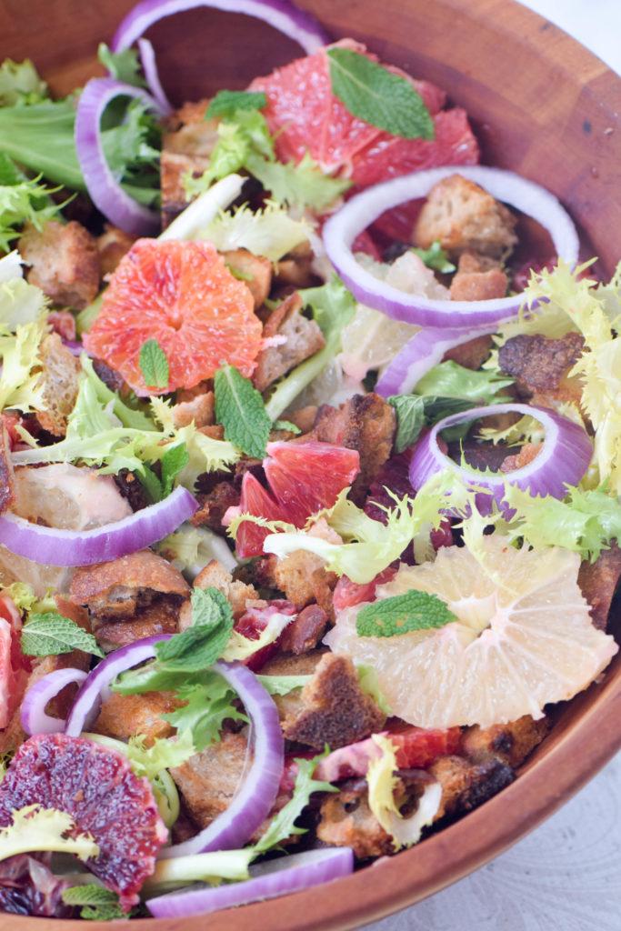 citrus salad frisee