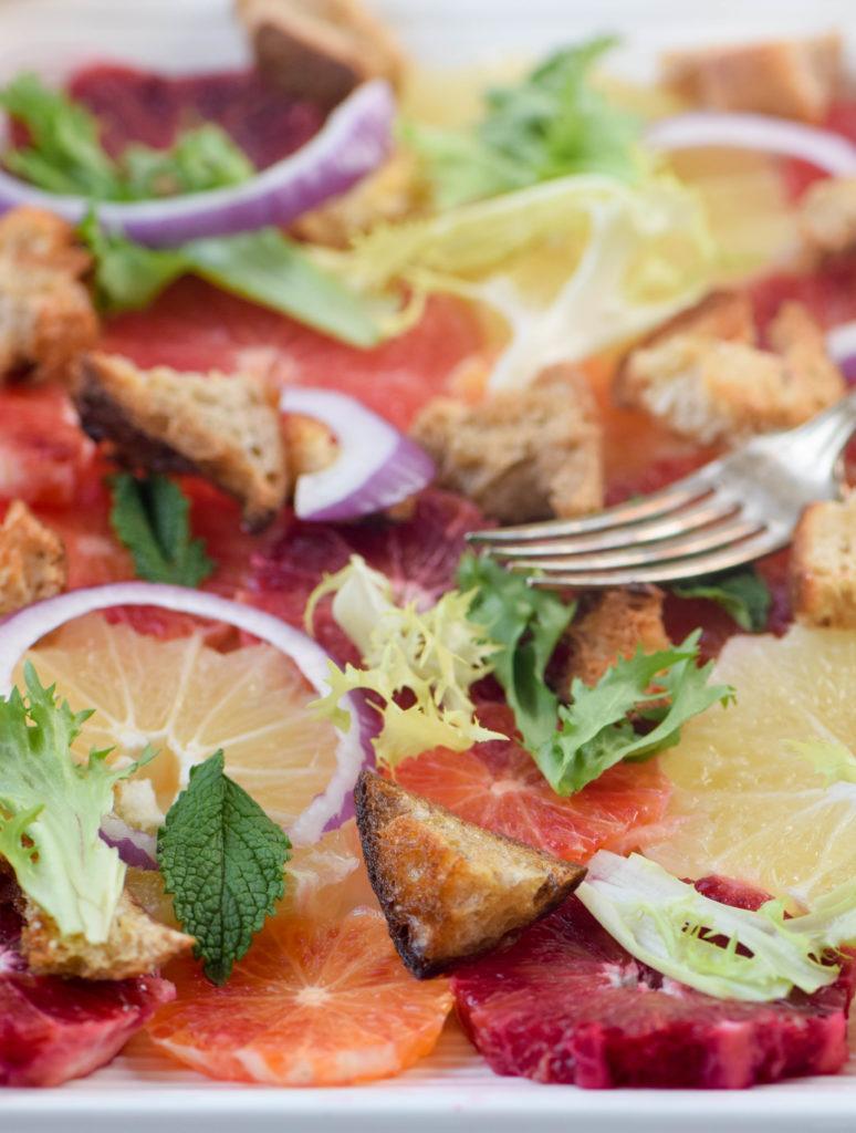 winter bread salad recipe