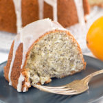 Queen Esther's Poppyseed Cake with Meyer Lemon Glaze
