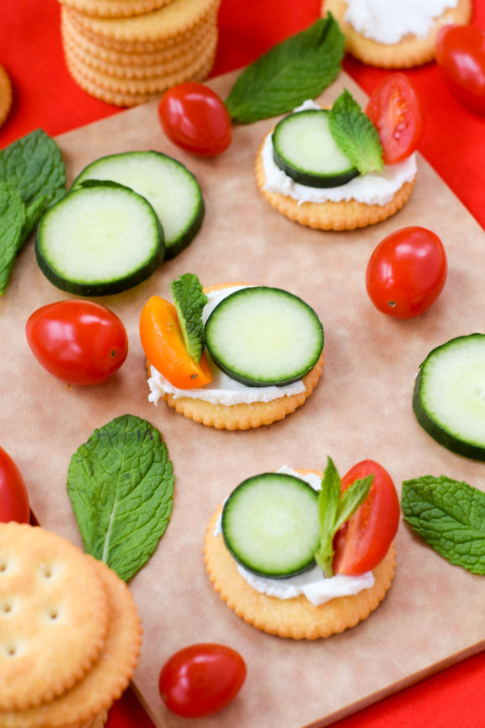 appetizers with ritz crackers
