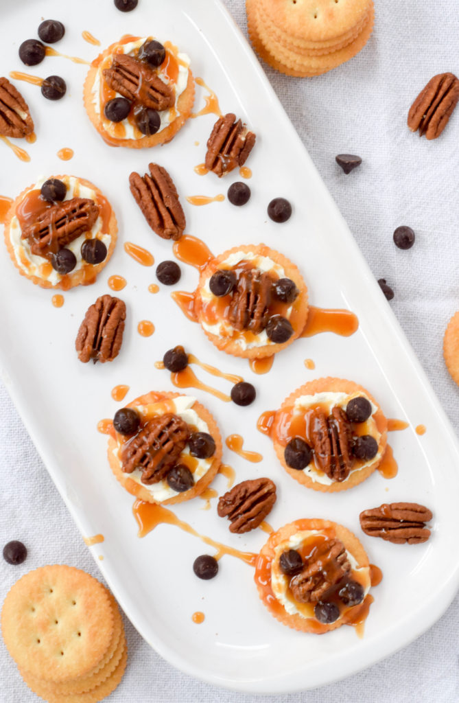 sweet ritz cracker toppings