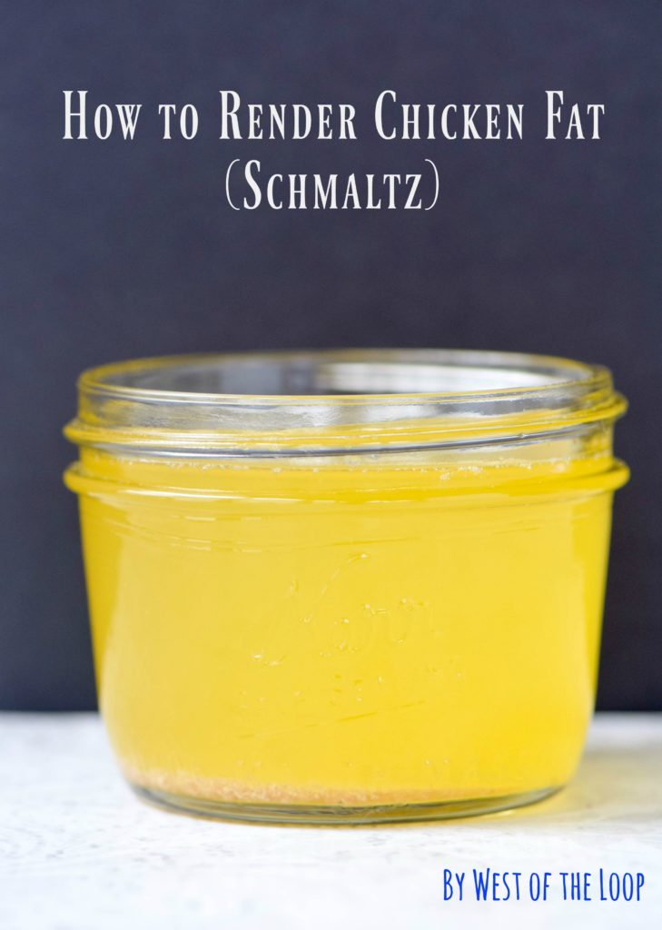 how to make schmaltz