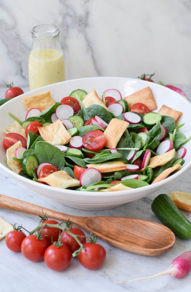 fattoush yogurt tahini dressing