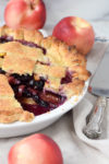 Stone Fruit Blueberry Pie