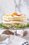 Naked Peach Cake