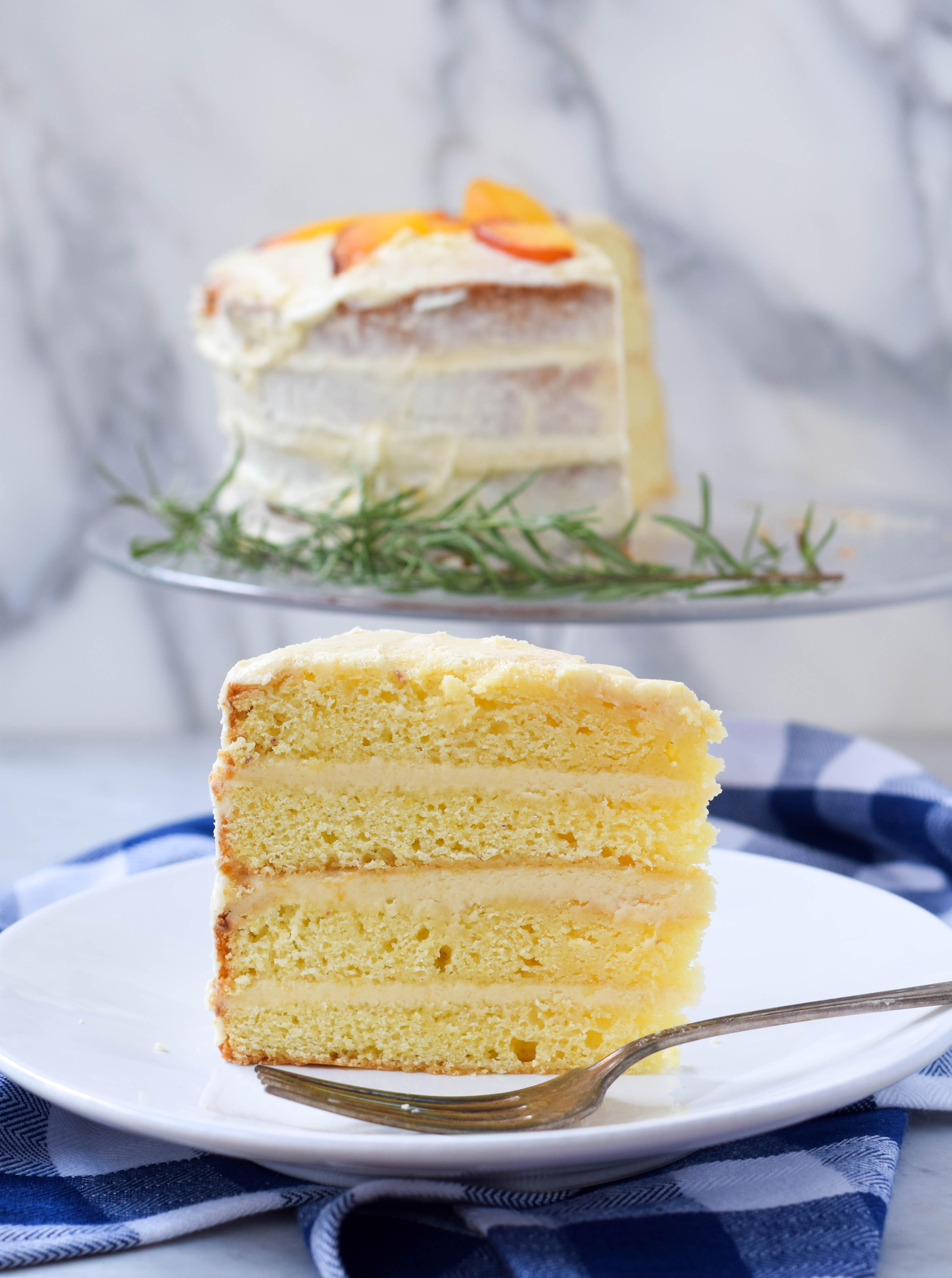Peach Cake Recipe From Scratch