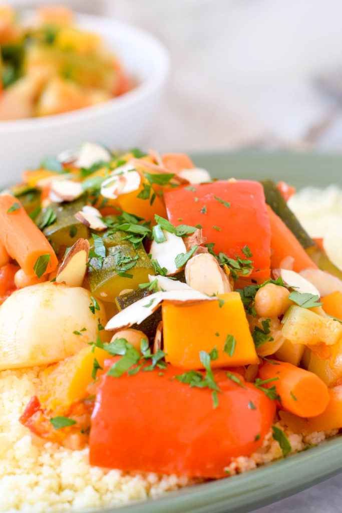 couscous with seven vegetables rosh hashanah