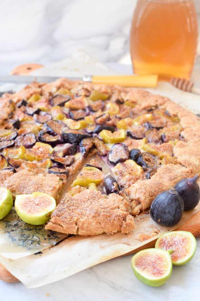 fig honey galette