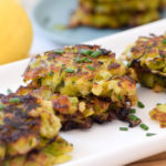 Leek Patties for Rosh Hashanah