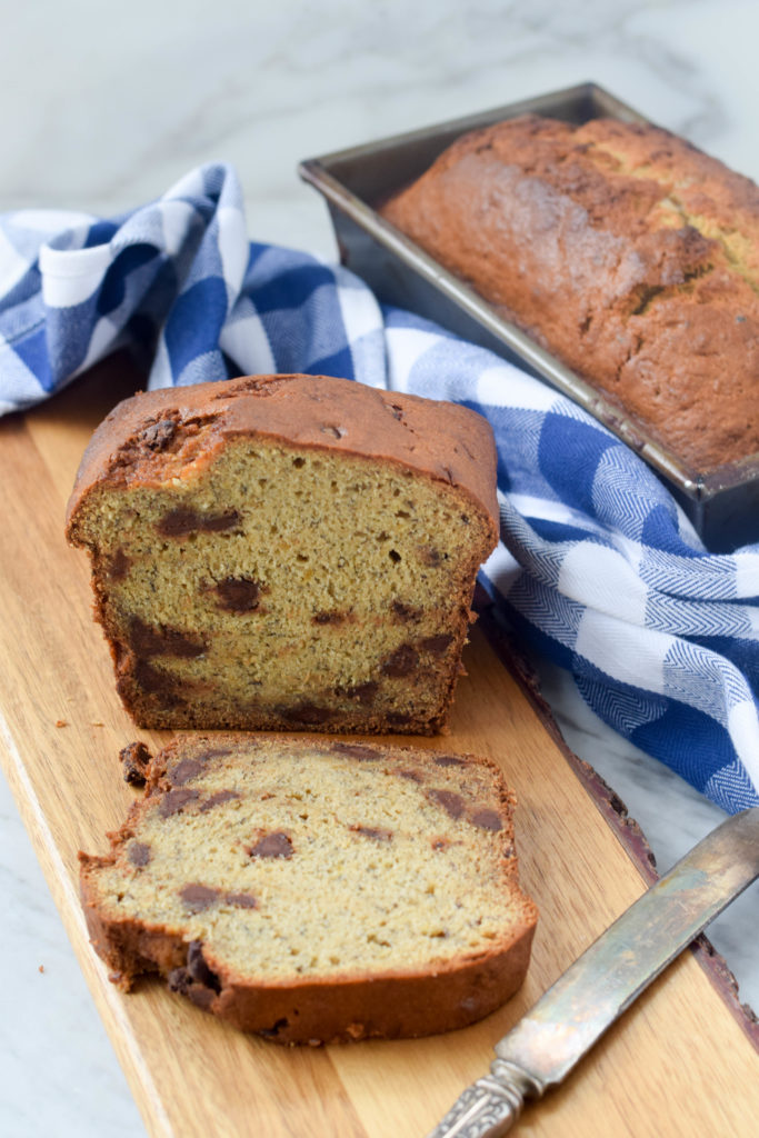 banana bread with lentils