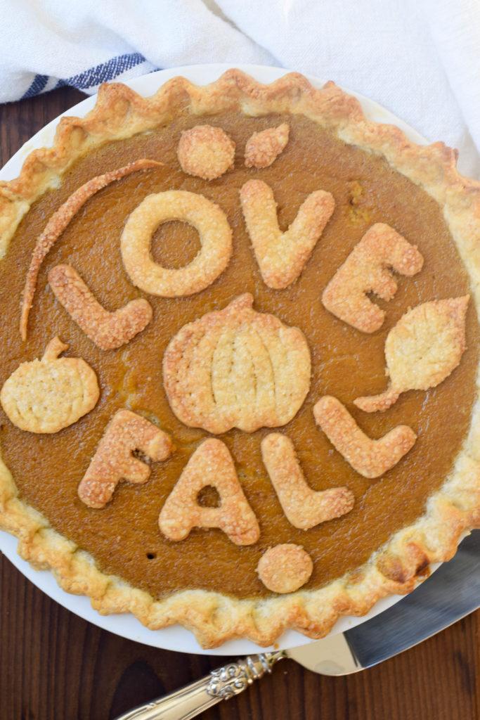 pumpkin pie fresh pumpkin
