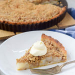 Pear Tart with Pecan Streusel