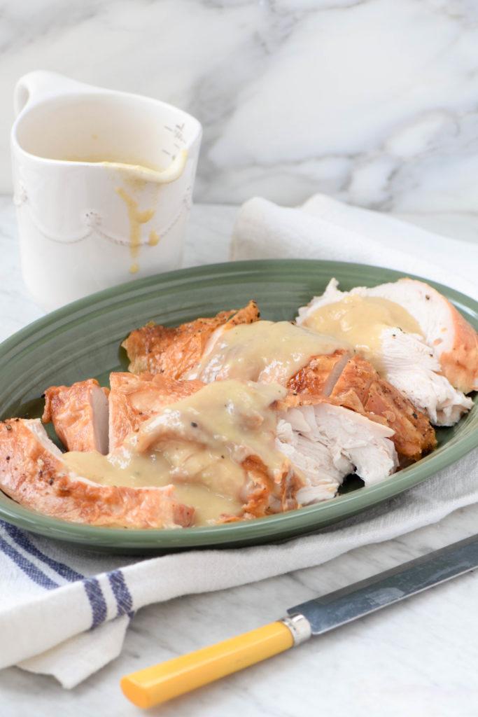 roasted turkey breast gravy