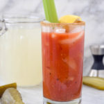 Bloody Mary with Dill Pickle Vodka