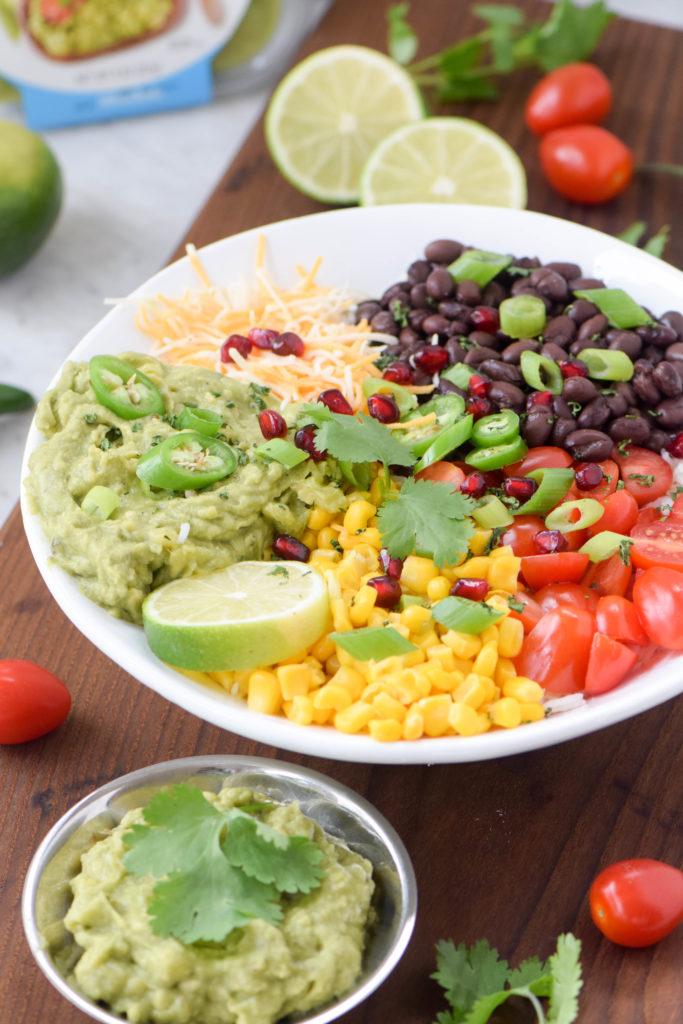 mexican burrito bowl vegetarian