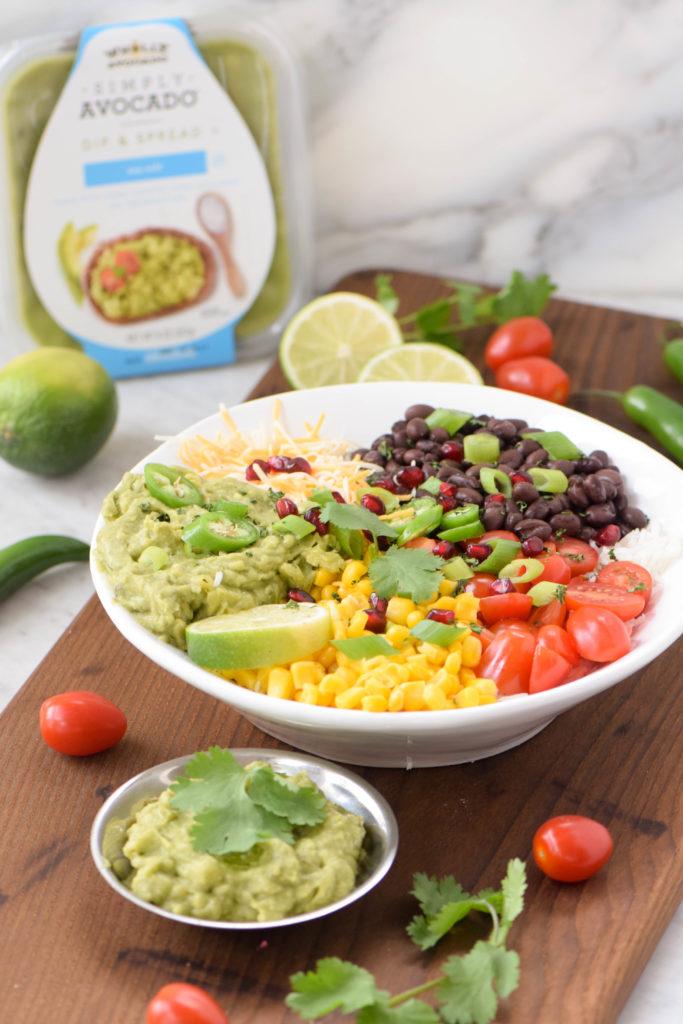 burrito bowls vegetarian