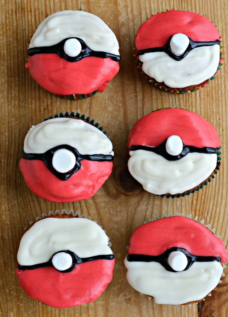 Diy Pokemon Cupcakes West Of The Loop