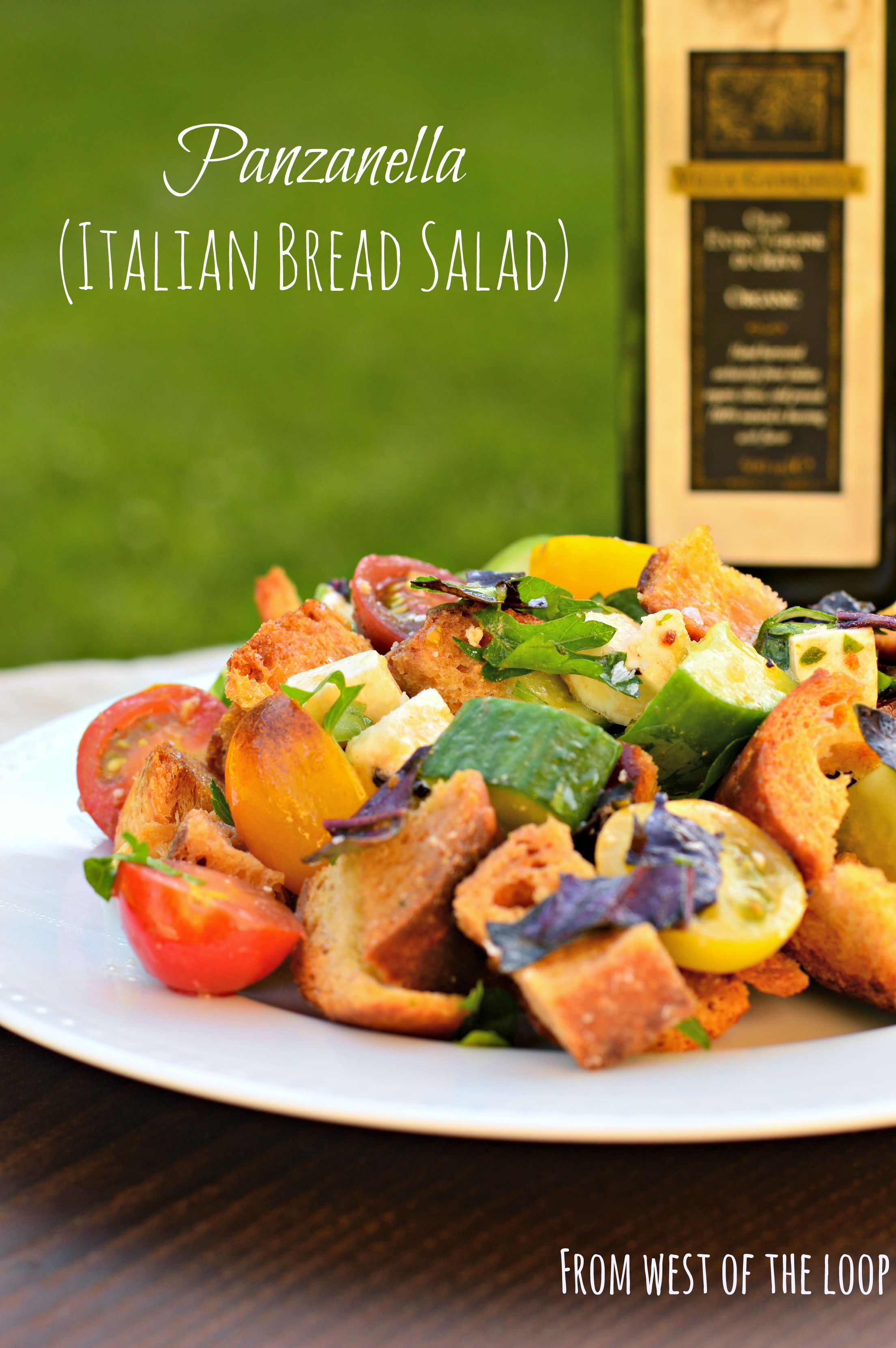 Panzanella Tuscan Bread Salad West Of The Loop