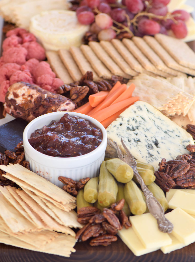 Entertaining: Holiday Cheese and Pickle Plate - West of the Loop