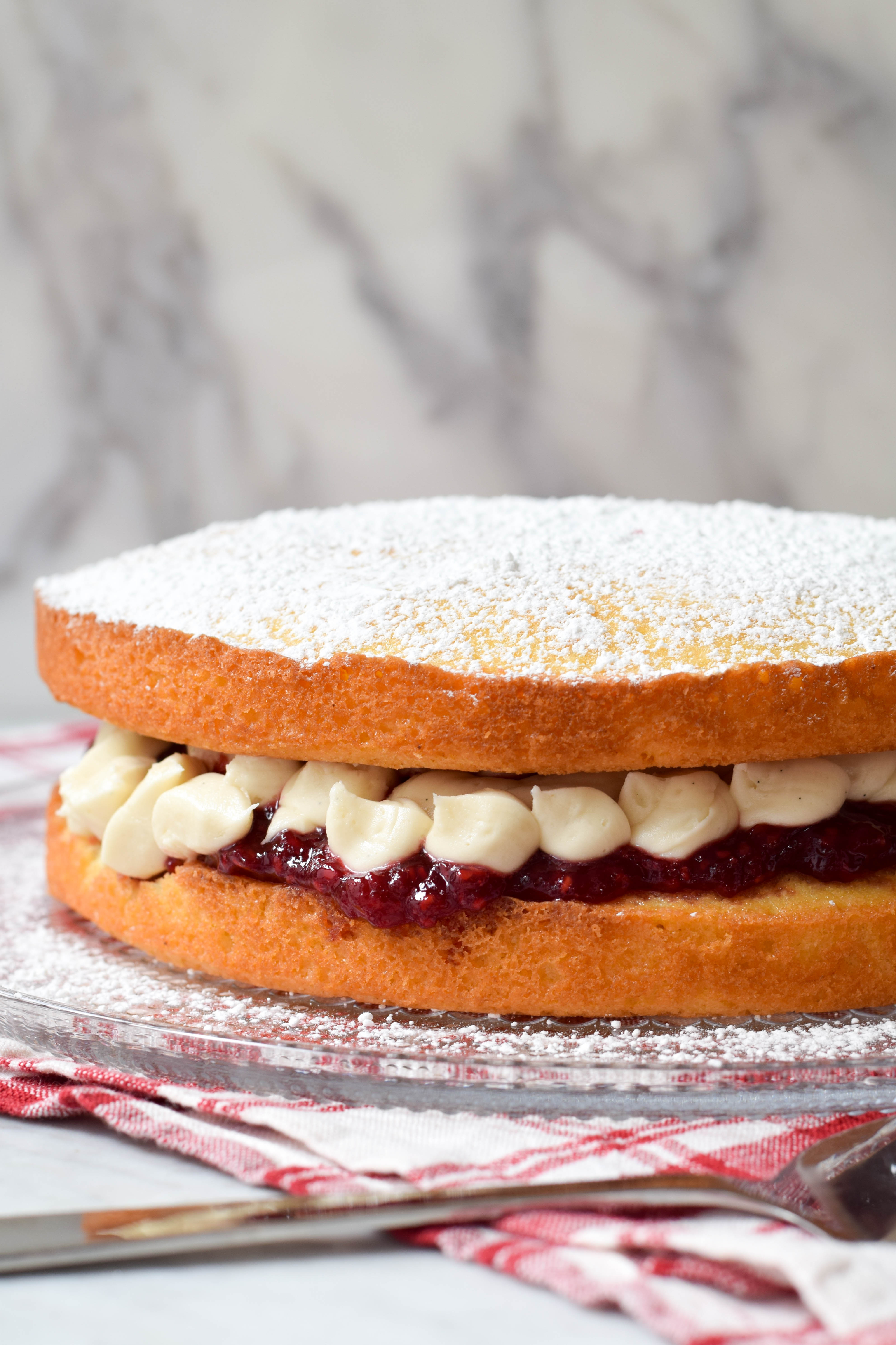 Great British Baking Show Victoria Sandwich West Of The Loop