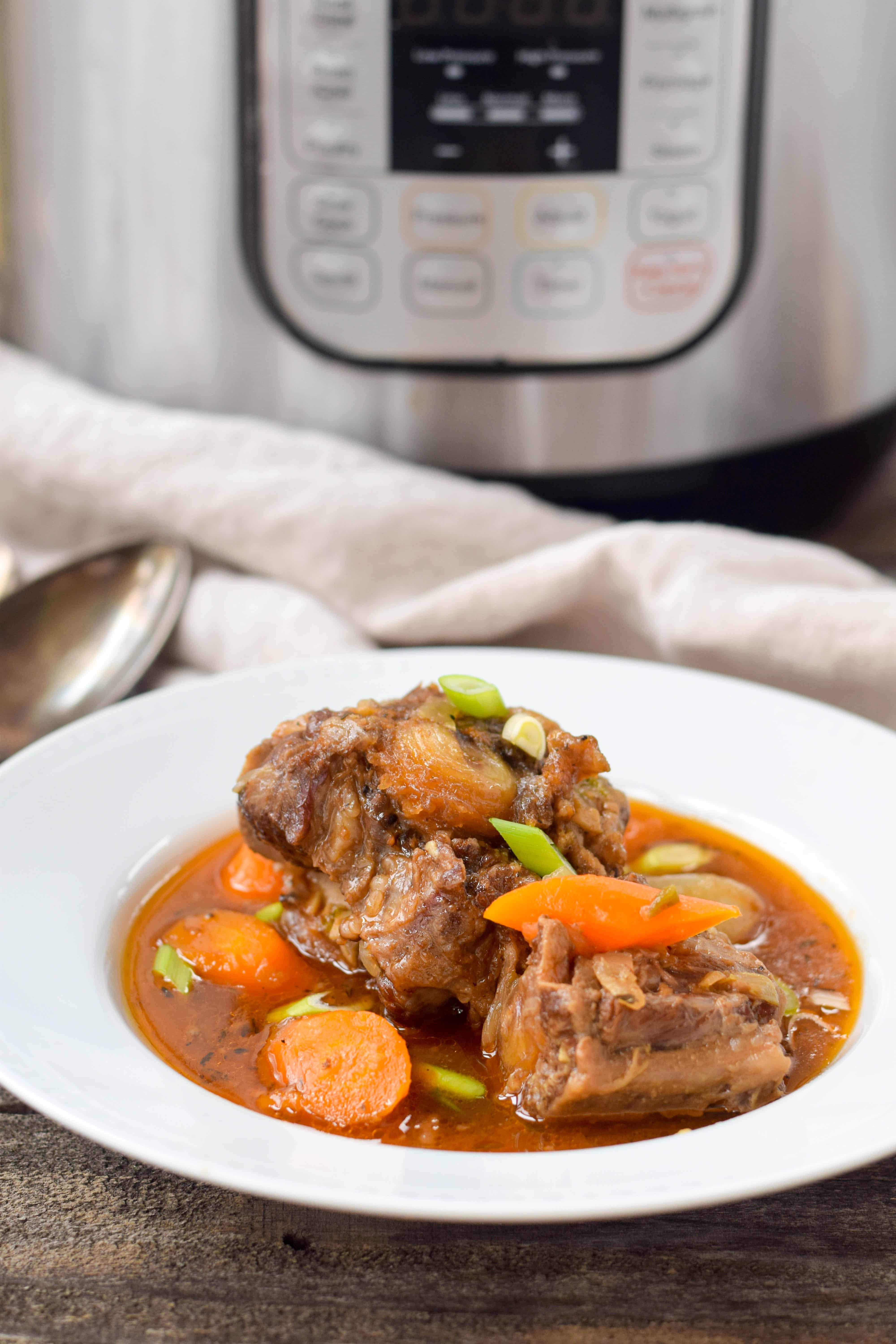Instant Pot Oxtail Stew West Of The Loop